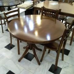 فروش میز گلدانی با کف چوب