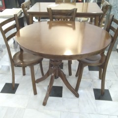 خرید میز گلدانی با کف چوب