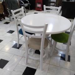 تولید میز گلدانی و صندلی طوقی