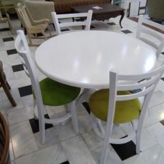 میز گلدانی با صندلی طوقی