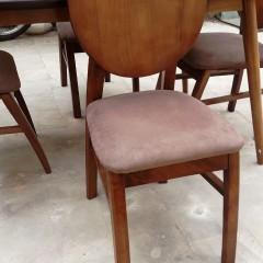 میز لوله ای با صندلی فیلی