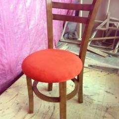 صندلی طوقه دار با میز خاطره