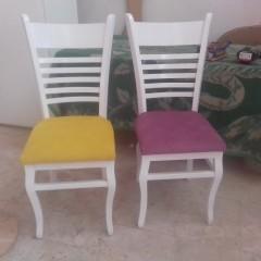 صندلی اطریشی با میز گرد
