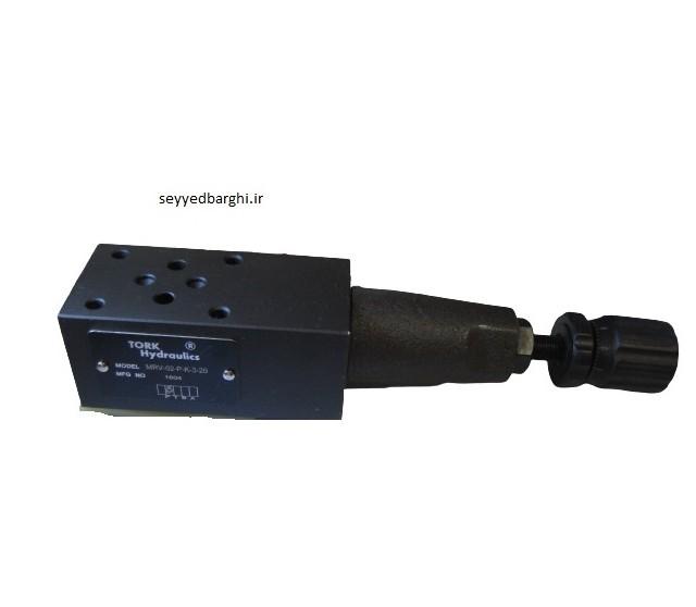 فشارشکن مادولار 1/4 P کنترل ترک هیدرولیک