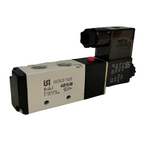 شیر برقی پنوماتیک ISI مدل 4V210-08 (220ولت)