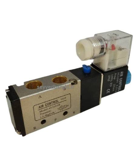 شیر برقی پنوماتیک  ایر کنترل مدل 4V210-08