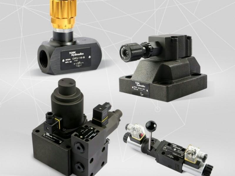 TORK Hydraulics تنوع کاملی از محصولات هیدرولیک