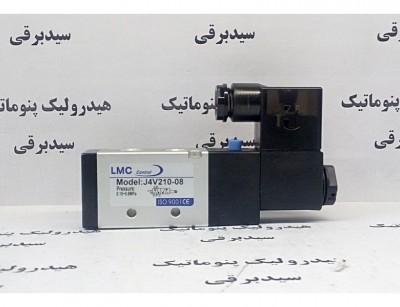 شیر برقی 4V210-08 تک بوبین LMC