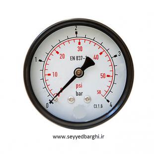 فشار سنج خشک افقی صفحه 6 سانت