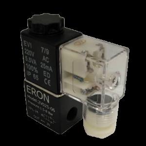 شیر برقی پنوماتیکی 1/8 2V1-06 مینیاتوری
