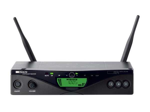 گیرنده بیسیم ای کی جی AKG SR470 Wireless Receiver