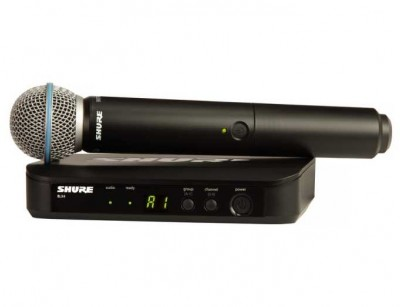 میکروفون بی سیم شور Shure BLX24/B58 Handheld Wireless System