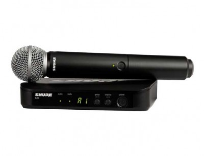 میکروفون بی سیم شور Shure BLX24/SM58 Handheld Wireless System