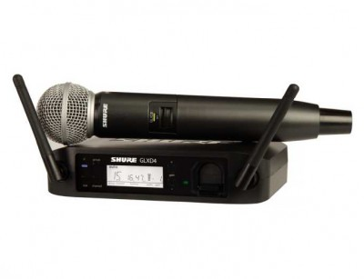 میکروفون بی سیم شور Shure GLXD24/SM58 Handheld Wireless System