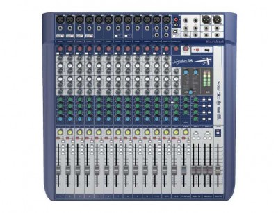 میکسر ساندکرافت Soundcraft Signature 16 Mixer