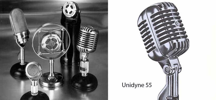 میکروفون unidyne 55 شور
