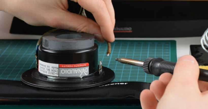 تعمیر اسپیکر speaker تعمیر باند در آروند فراز مهرگان