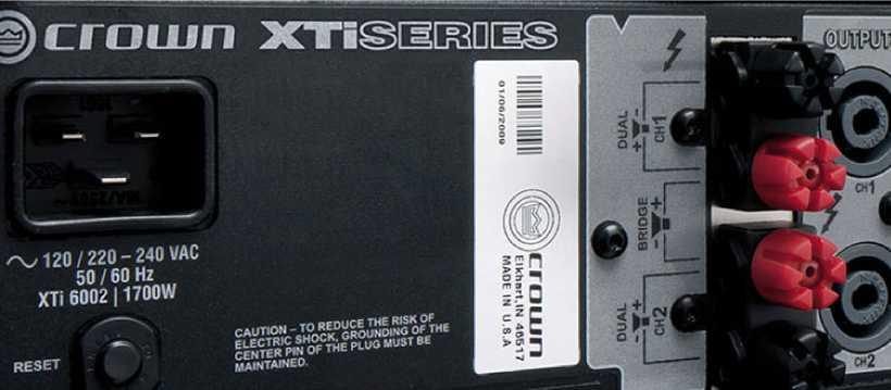 آمپلی فایر کرون XTI 6002