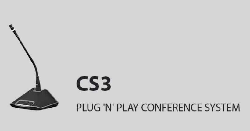 میکروفون مدیریت کنفرانس ای کی جی AKG CS3 CU 30