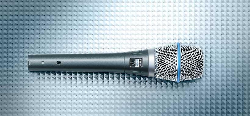میکروفون شور مدل Beta 87A با فیلتر پاپ
