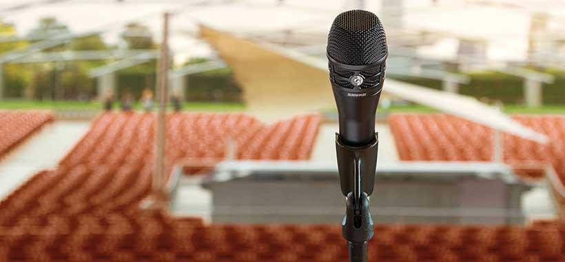 میکروفون شور KSM8 مجهز به آهنربای نئودیمیومی