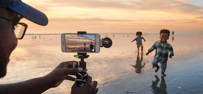 میکروفون شور MV88 پشتیبانی از دوربینهای iOS