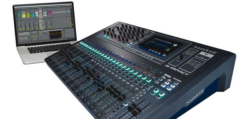 میکسر ساندکرافت Soundcraft Si Impact Mixer