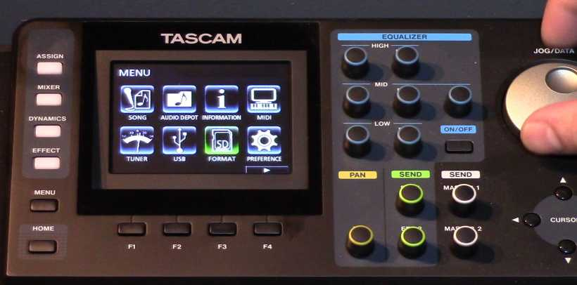 رکوردر تسکم Tascam DP-24SD Recorder