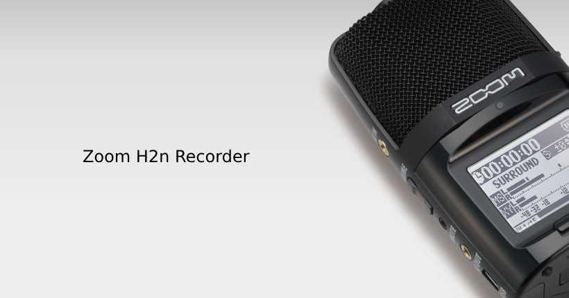 صدای سه بعدی رکوردر h2n VR