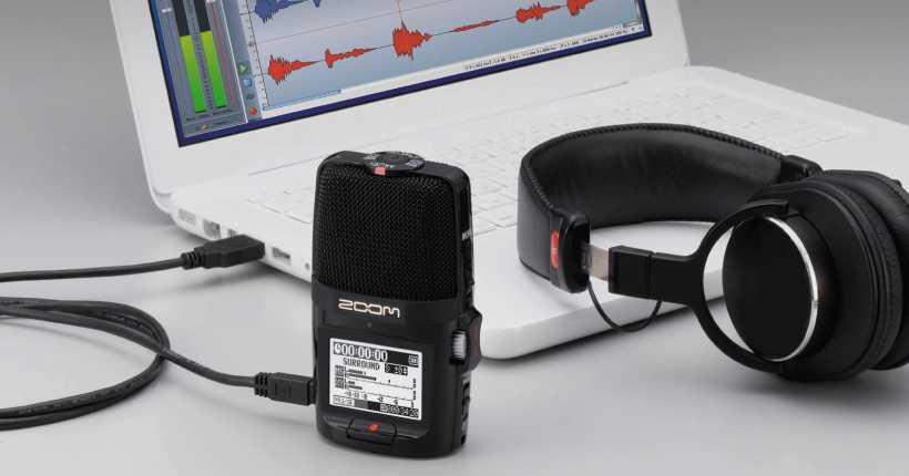 استفاده از H2n به عنوان رابط صوتی