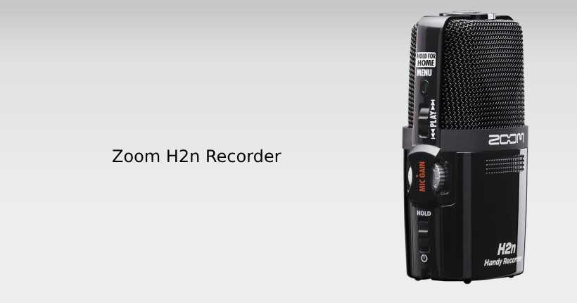 ورودیها و خروجیهای رکوردر zoom h2n