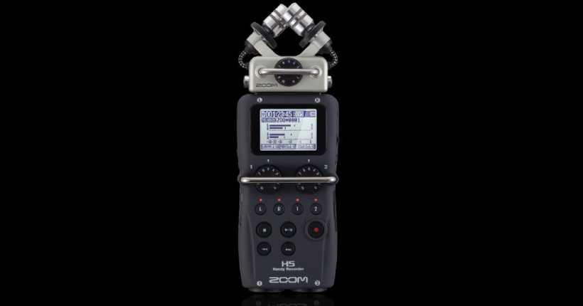 ورودی های مختلف ضبط کننده صدا زوم H5