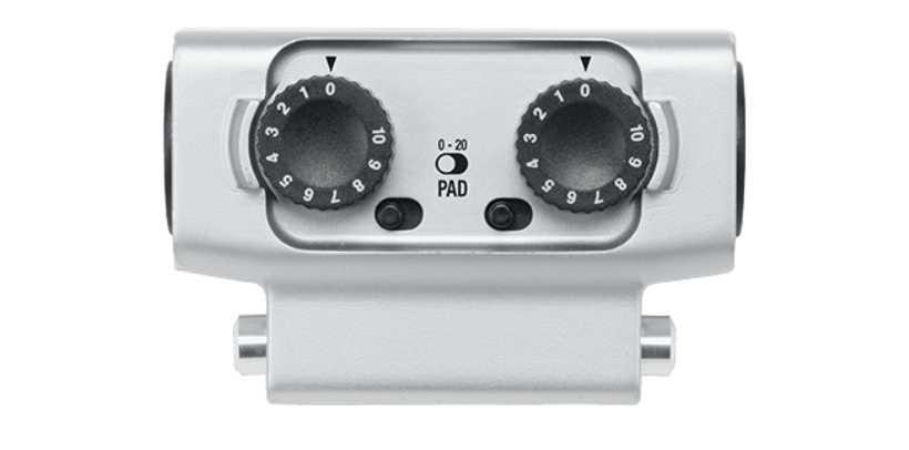 میکروفن EXH-6 Dual XLR/TRS Combo برای Zoom Recorder H6