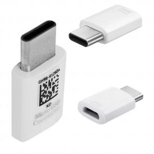 مبدل microUSB به USB-C سامسونگ GH98-41290A