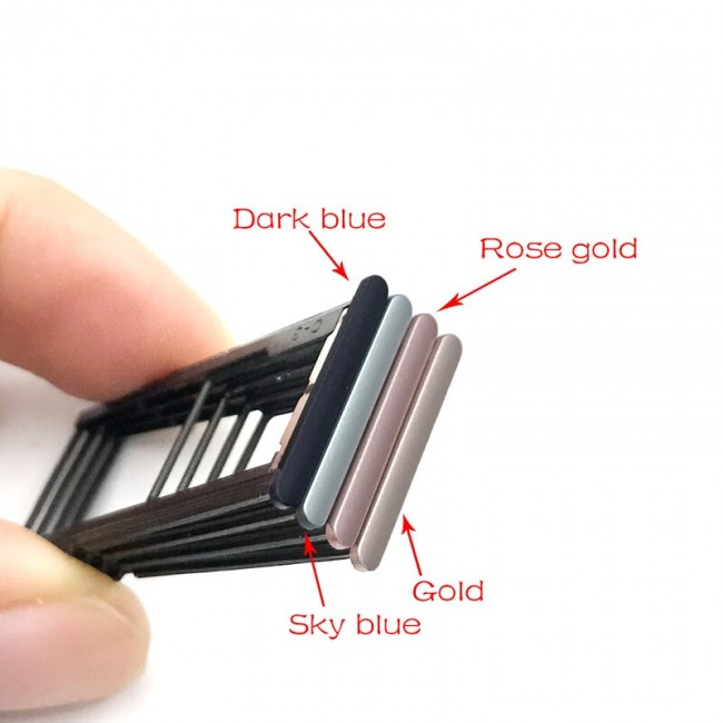 اسلات سیم کارت Asus Zenfone 4 Selfie ZD553KL Sim Card Slot Tray