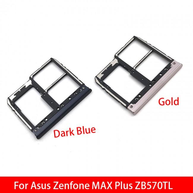 اسلات سیم کارت ASUS ZENFONE MAX PLUS ZB570TL Sim Card Slot Tray