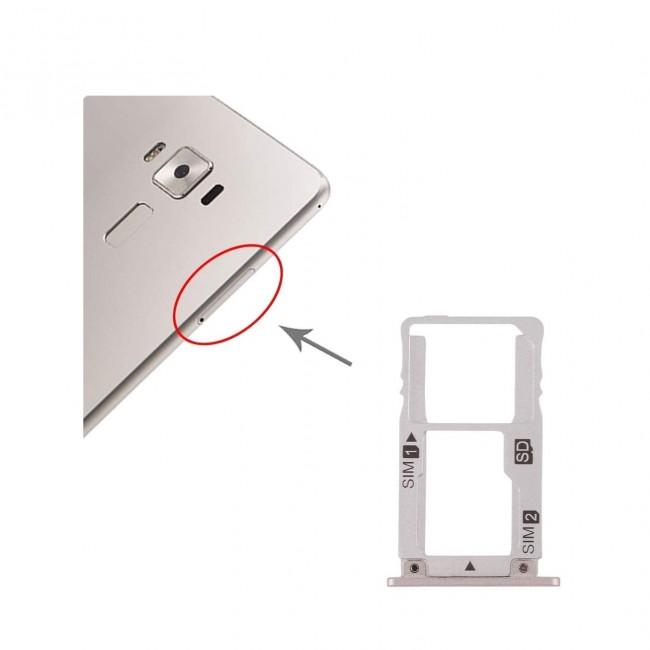 اسلات سیم کارت ASUS Zenfone 3 Deluxe ZS570KL Sim Card Slot Tray