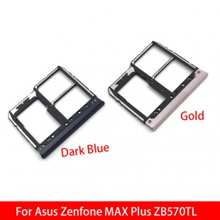 اسلات سیم کارت ASUS ZENFONE MAX PLUS ZB570TL Sim Card Slot Tray
