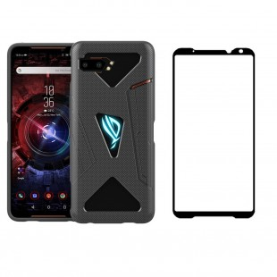 ASUS ROG PHONE 2 ZS660KL ORIGINAL COVER + FULL GLASS