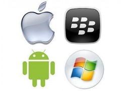 انواع سیستم عامل Android , iOS , blackberry , windows