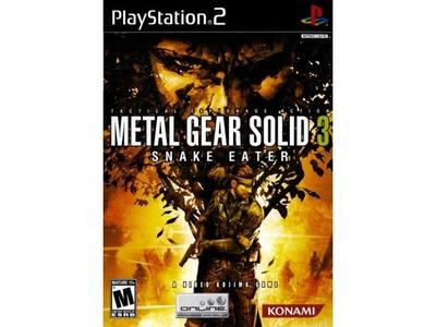 بازی متال گیر سالید 3 برای PS2