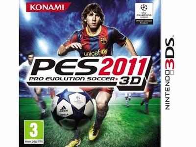 بازی پی ای اس 2011 برای 3 دی اس