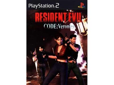 بازی رزیدنت ایول کد ورونیکا برای PS2