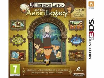 بازی 3دی اس پروفسور لایتون و میراث آزران