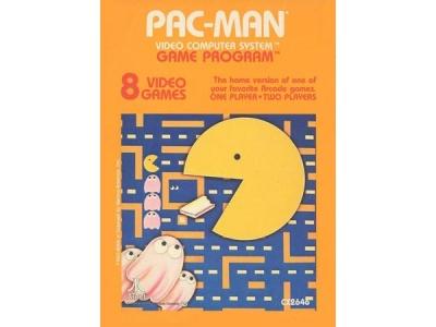 بازی پکمن آتاری 2600