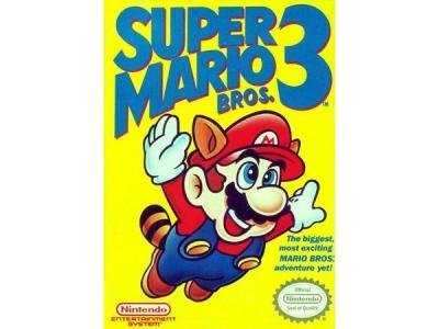 بازی قارچ خور 3 یا برادران سوپر ماریو 3 برای فامیکوم / نس
