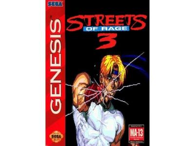 بازی شورش در خیابان 3 سگا جنسیس