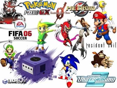 مجموعه بازی های گیم کیوب