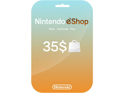 کارت 35 دلاری نینتندو ایشاپ