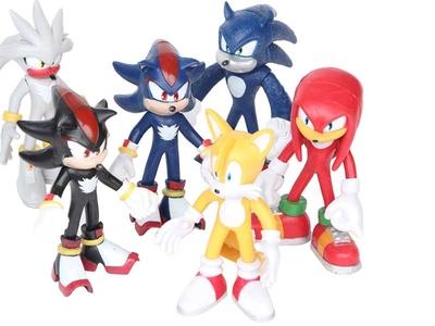 مجموعه عروسک شخصیت های سونیک
